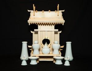 中式千木付宮(無地)セット