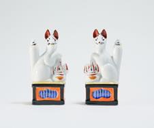 神狐(一対)